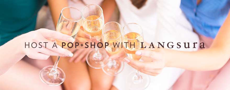 Host a POP + SHOP with LANGsura