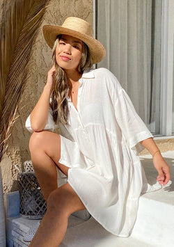 Audrey Boho Tunic Top