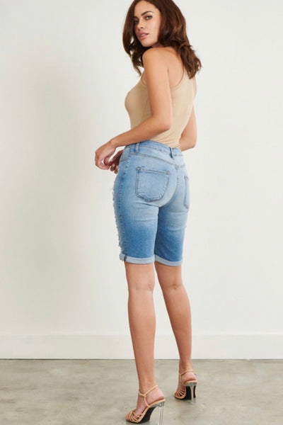 Hannah Denim Shorts