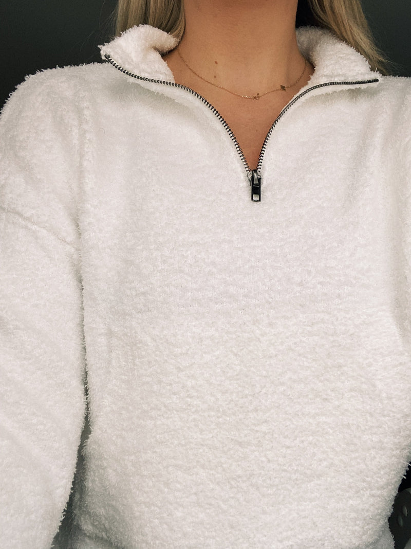 Kourtney Half Zip Sweater
