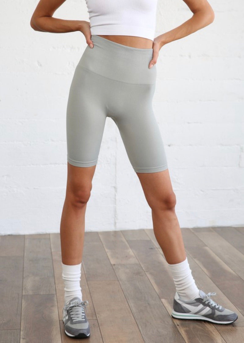 Aimee Ribbed Biker Leggings