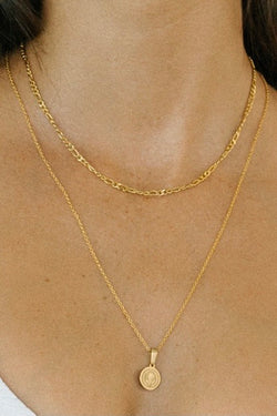 San Benito Gold Plated Necklace