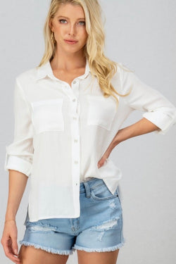 Bobbi Linen Top