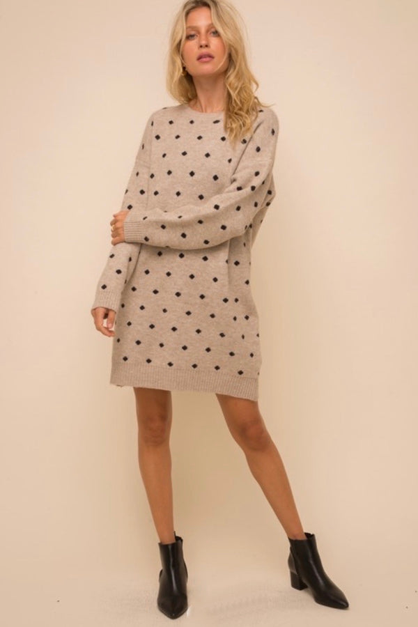 Kayla Sweater Dress