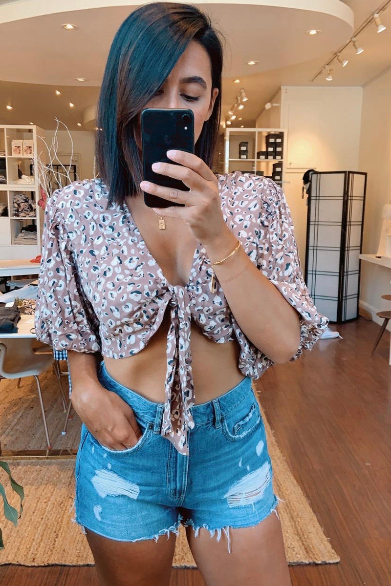 Alicia Wrap Top
