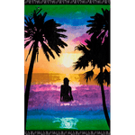 Blue Lagoon Abiichi Luxury Beach Blanket