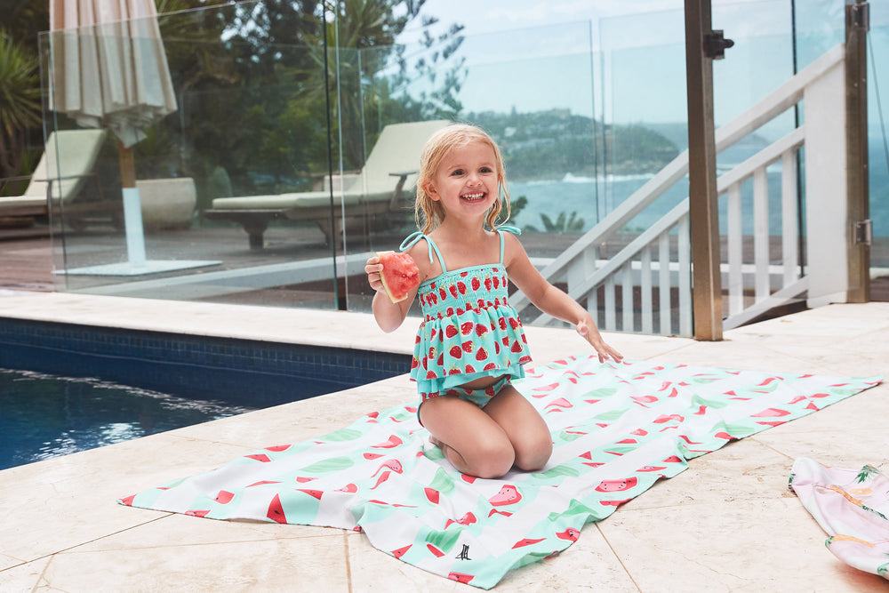 Wild Watermelon Beach Towel