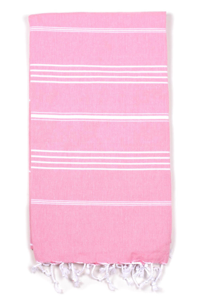 Pink Beach Towel by Kipa Beach