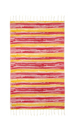 Brush Red Turkish Towel