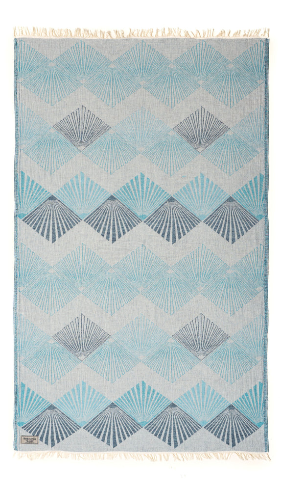 Celeste Blue Turkish Towel