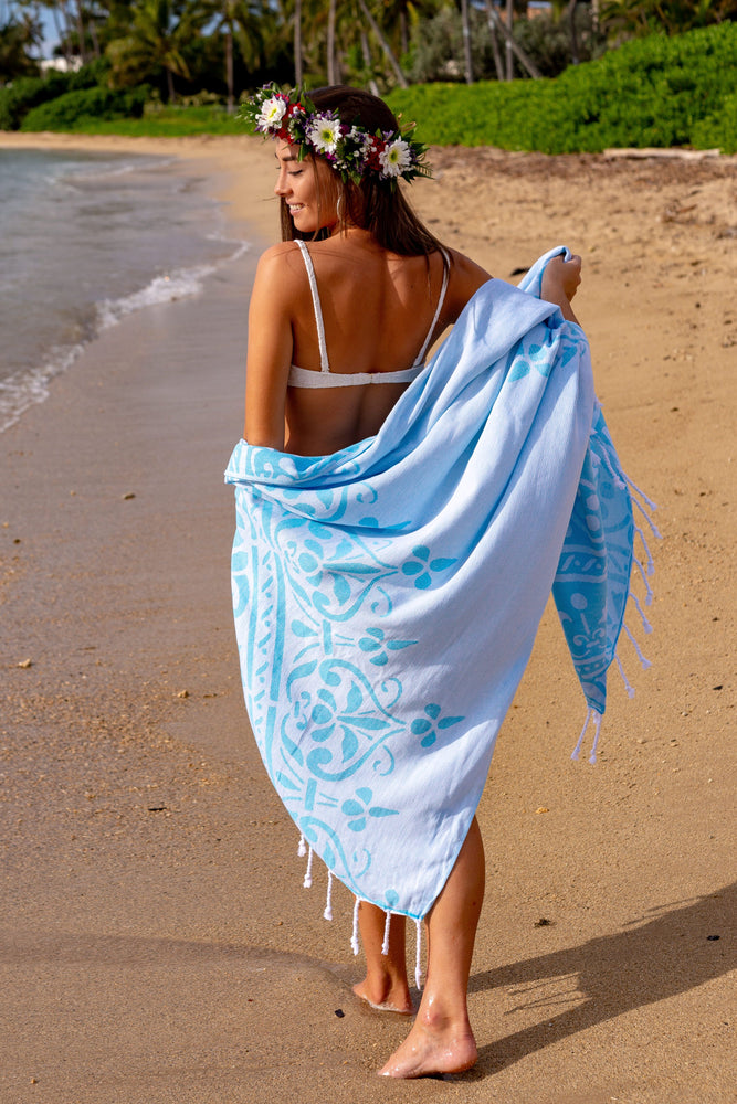 Regalia Turquoise Turkish Towel
