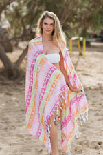 Tropicana Neon Turkish Towel
