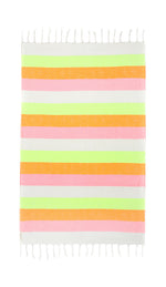 Neon Waves Turkish Towel