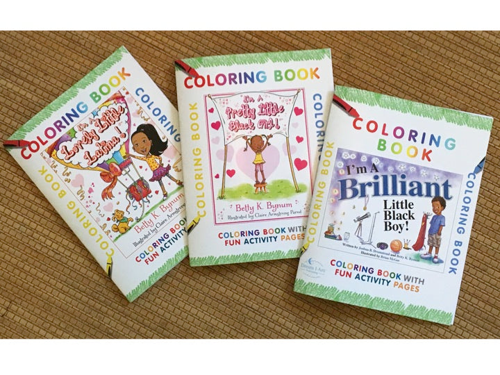 Ebooks COLORING BOOKS Downloads by Dream I Am