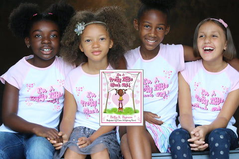 I'M A PRETTY LITTLE BLACK GIRL! TEE (AVAILABLE TO SHIP)