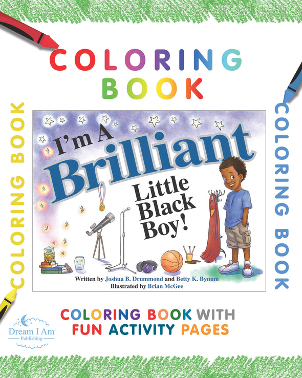 eBook COLORING BOOK BRILLIANT BLACK BOY DOWNLOAD