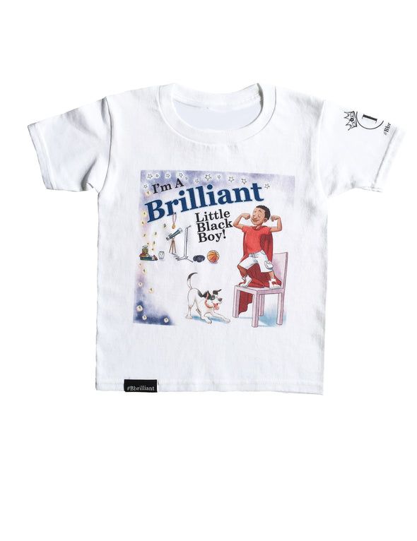 I'm A Brilliant Little Black Boy New Color Tees