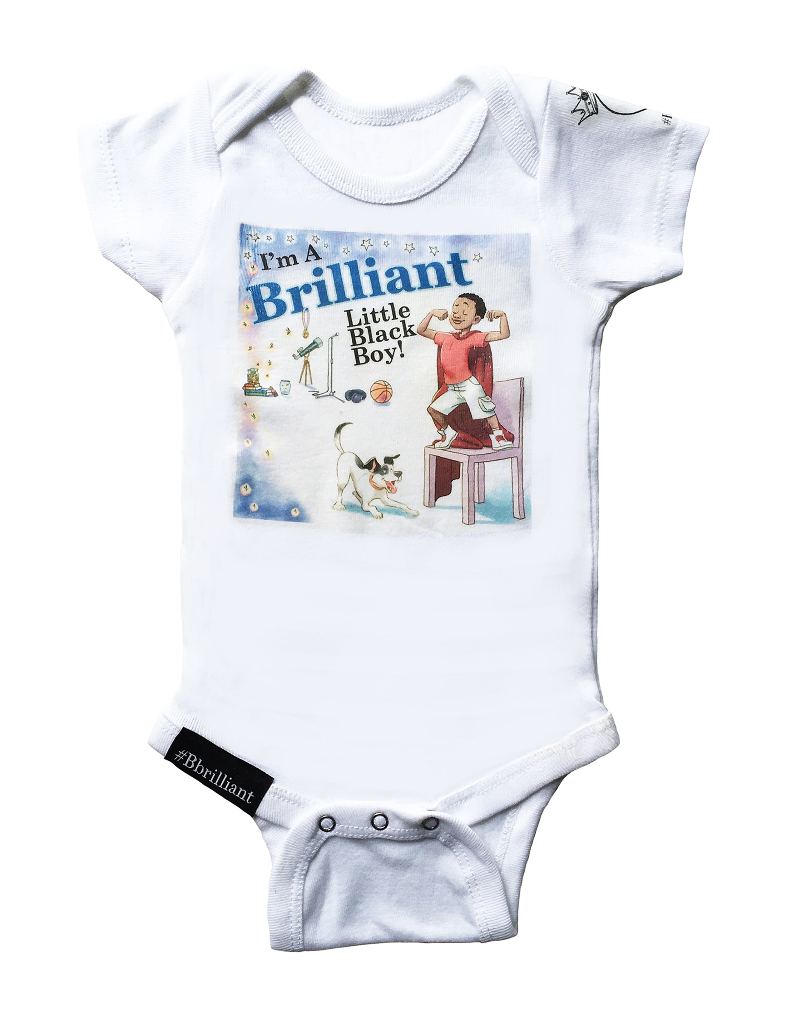 Brilliant Baby Onesies for I'm A Brilliant Little Black Boy! SOLD OUT!! -