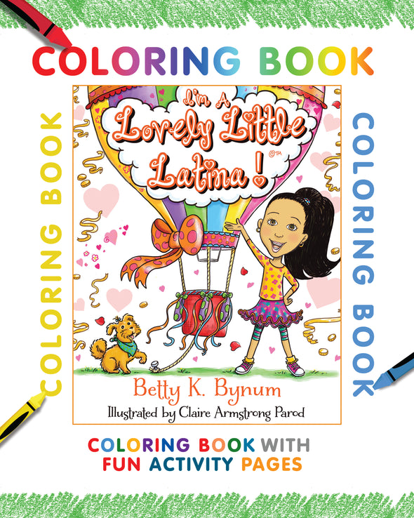 eBook COLORING BOOK LOVELY LITTLE LATINA! DOWNLOAD
