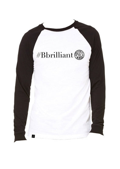 #BBRILLIANT MEN'S BASEBALL LONG SLEEVE TEE  SOLD OUT!