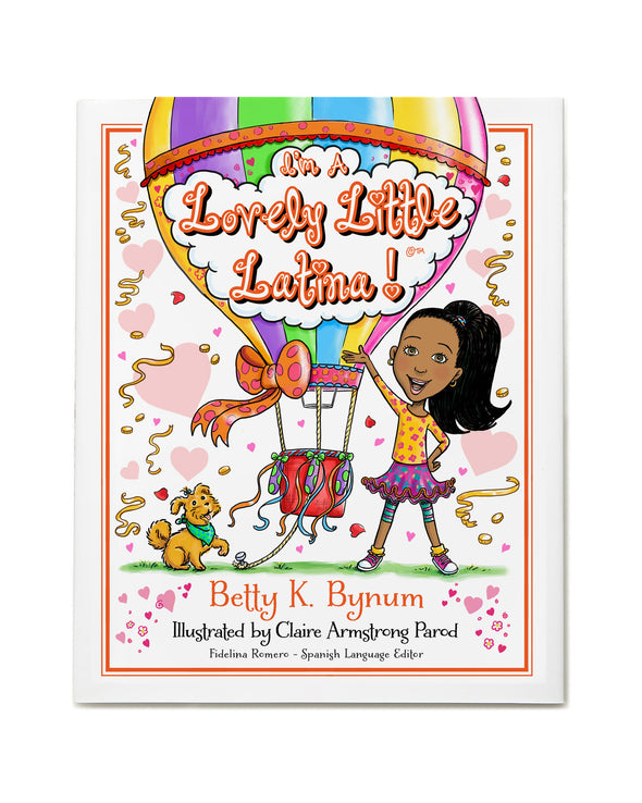 I'M A LOVELY LITTLE LATINA! Autographed Book & Artwork Post Card
