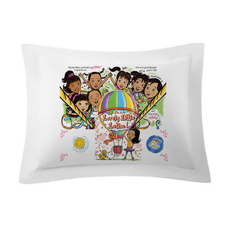 PILLOW SHAMS / I'M A LOVELY LITTLE LATINA! [PRE-ORDERS - Allow 10 days delivery]