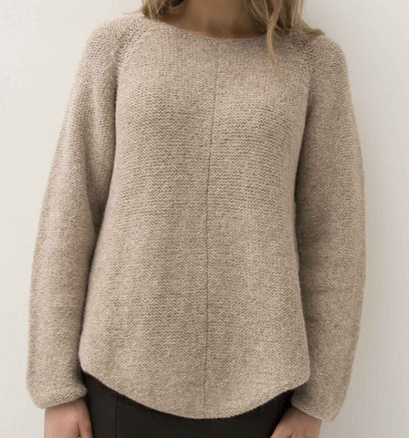 ESENCIA Alpaca Sweater Cathy PEBBLE