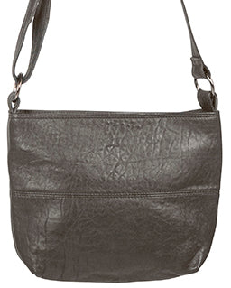 Love THAT leather Mini Slouchy CHARCOAL