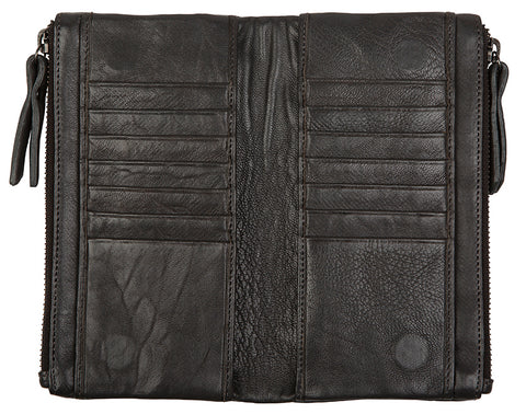 Love THAT leather Soft Wallet BLACK