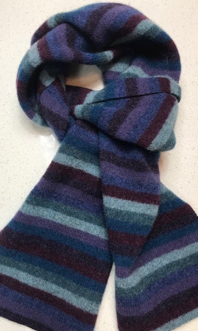 Mr WOOL Multi Stripe Scarf