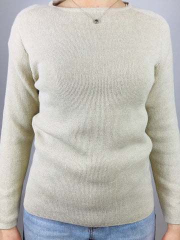 ESENCIA Sweater Bristol Natural Ivory