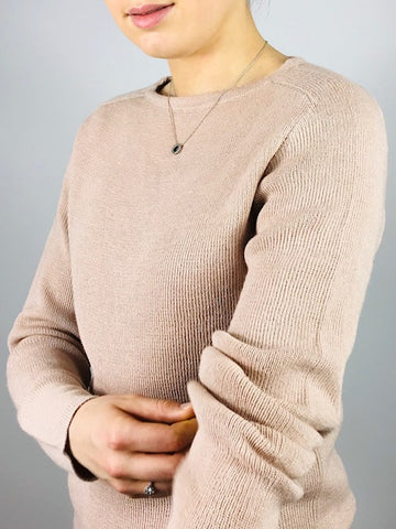 ESENCIA Sweater Bristol Soft Rose