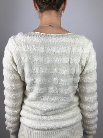 ESENCIA Sweater Tenna WARM IVORY