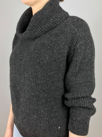 ESENCIA Sweater Meggie CHARCOAL