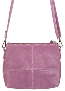 Love THAT leather Pouch bag  WASHED ORCHID