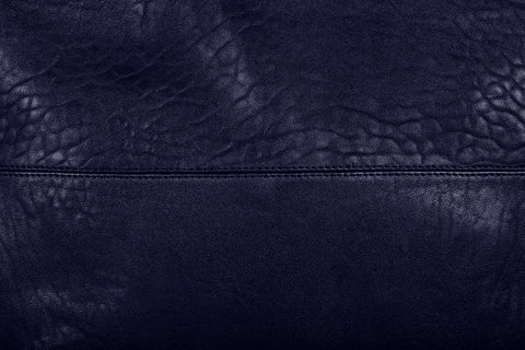 Love THAT leather Pouch Bag DARK NAVY