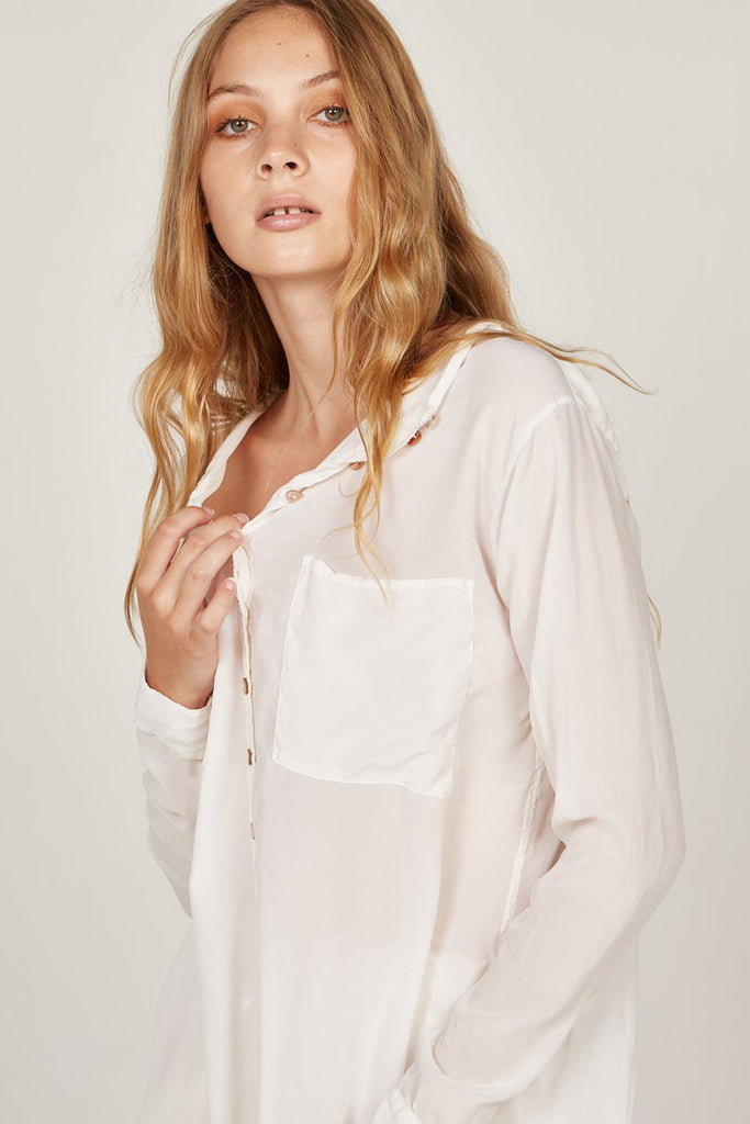 PRIMNESS Blouse WHITE