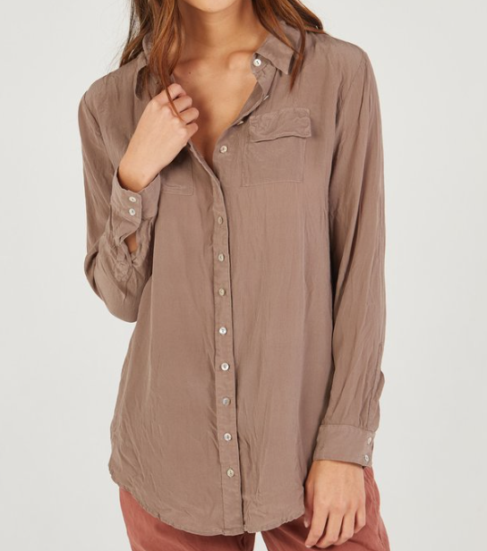 PRIMNESS Blouse Chocolate