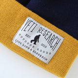 Yeti Research Co. - Everyday Beanie - Navy / Yellow
