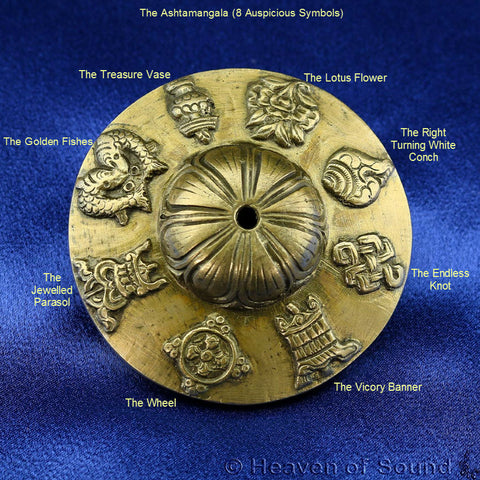 Symbols on Singing Bowls and Tingsha explained by Heaven of