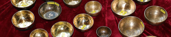 May 2020: Reduced Prices on All Tibetan singing bowls to help through COVID-19 from Heaven of Sound