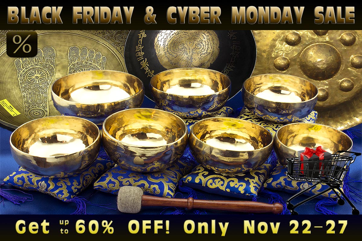Black Friday & Cyber Monday Sale at Heaven of Sound - 5 crazy days with up to 60% off store-wide