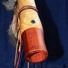 Custom made Native American Flute with gem stone