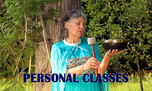Classes in Personal Sound Healing