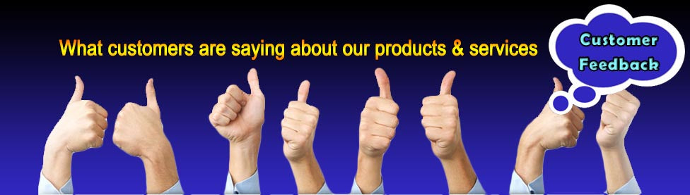 Heaven of Sound Testimonials from Customers & Clients
