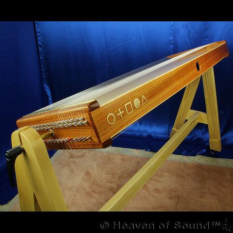 Custom made KoTaMo / Monochord with Persian scale, handcrafted at Heaven of Sound