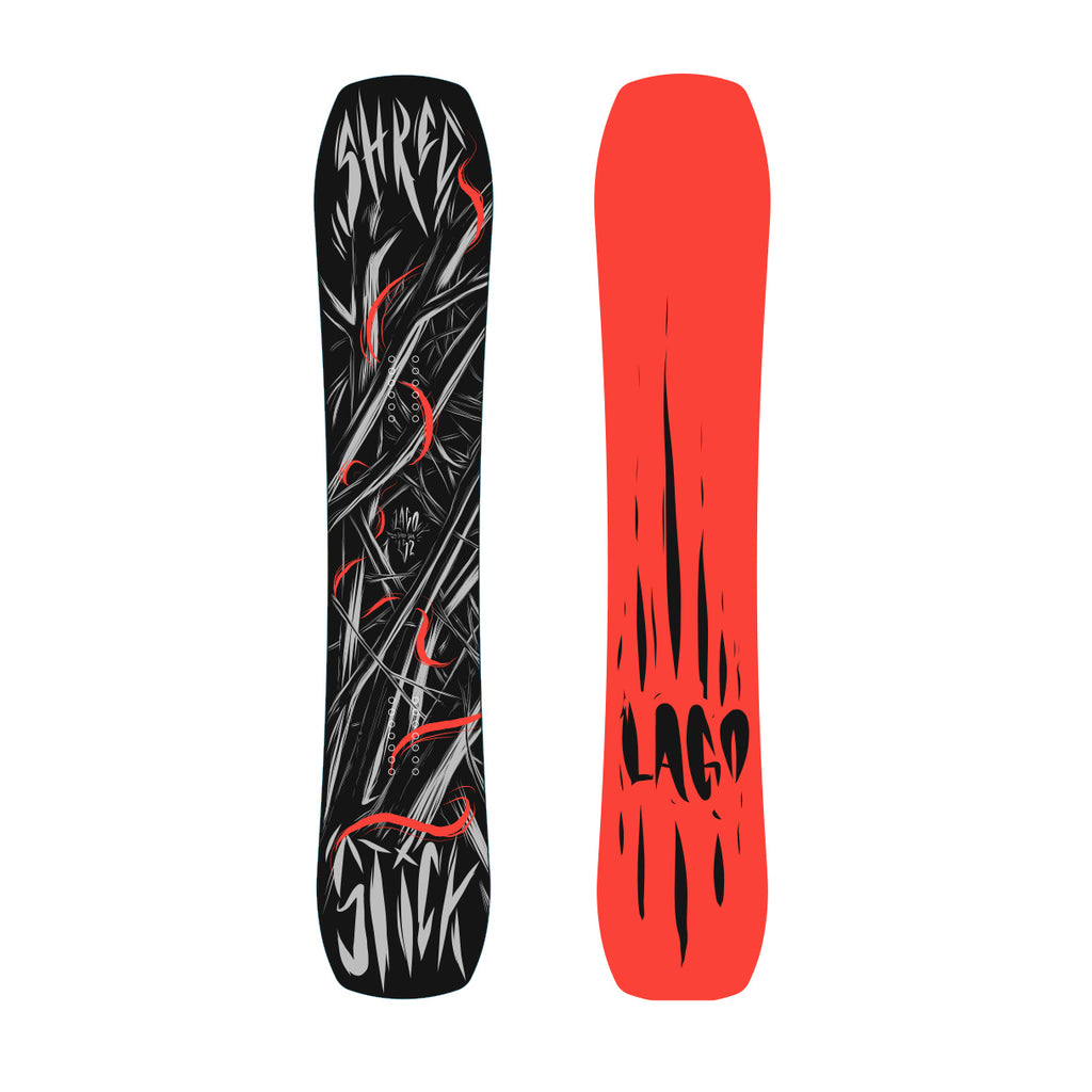 NEW Lago Snowboards Shred Stick