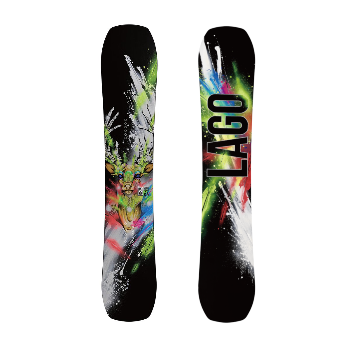 NEW Lago Snowboards Open Road