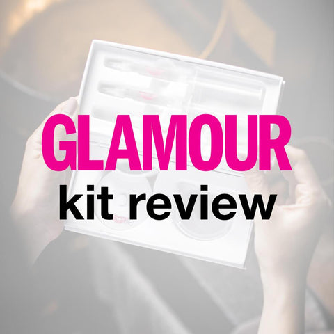 Glamour Magazine reviews our Teeth Whitening Kit