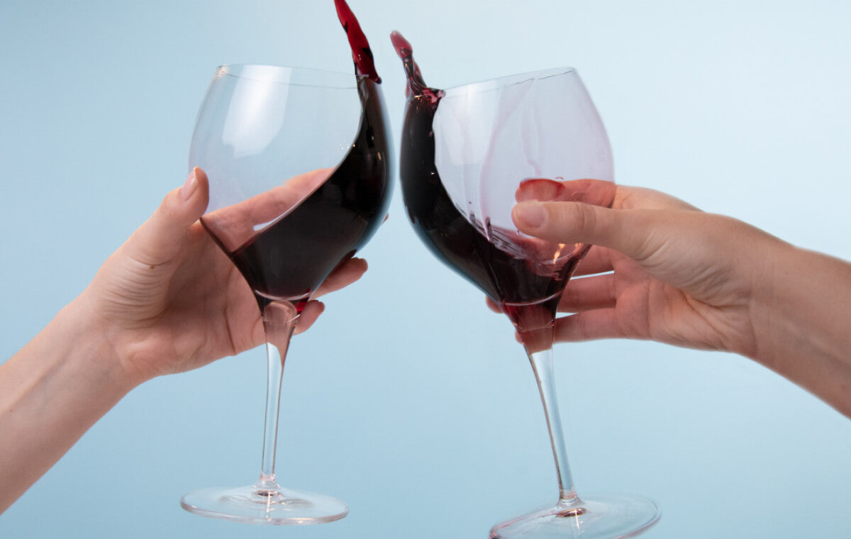 Red wine is one of the worst teeth staining liquids you can drink!